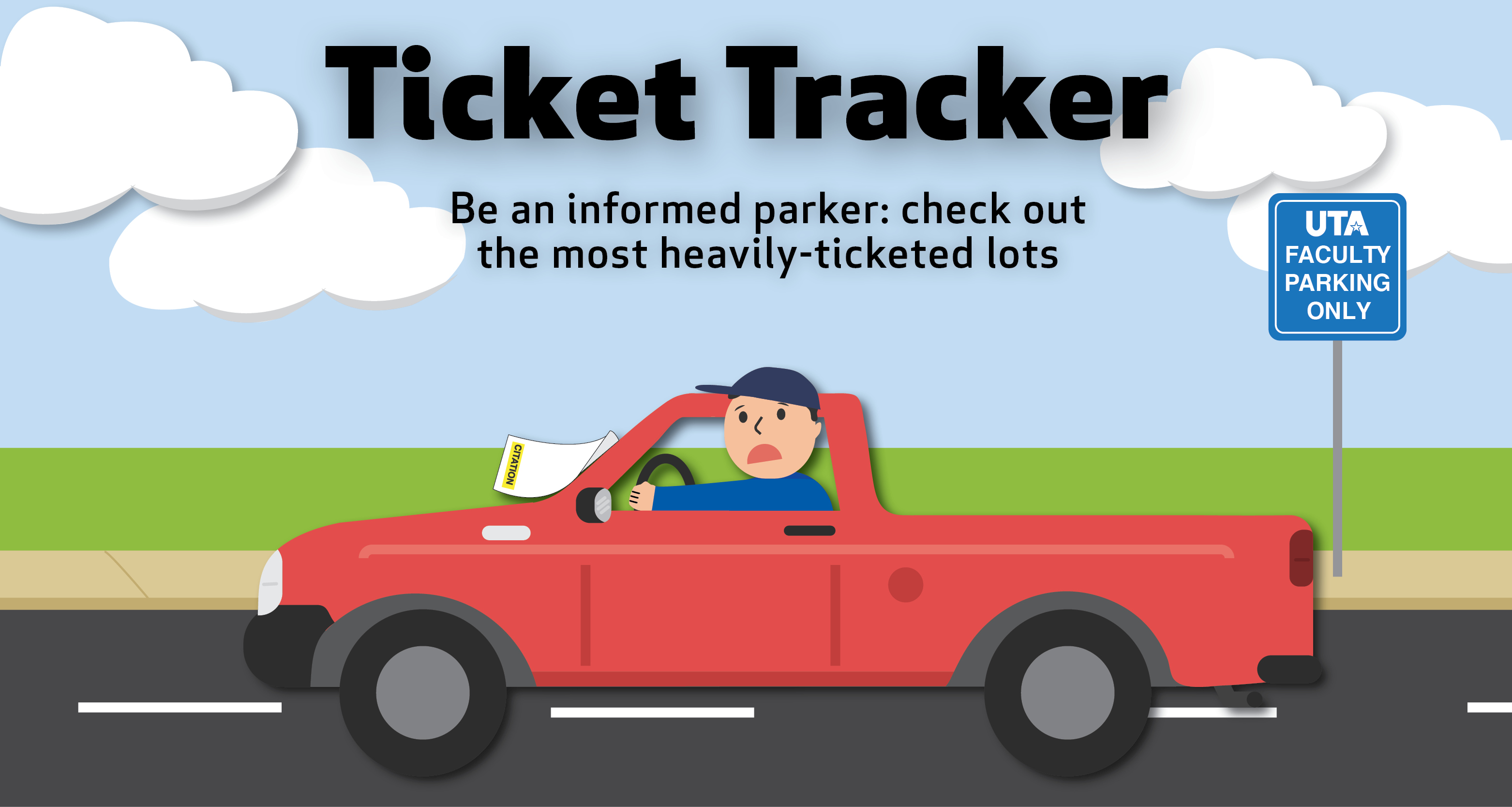 Ticket Tracker Home Page